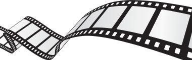 curvy film strip