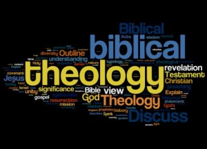theology wordogram